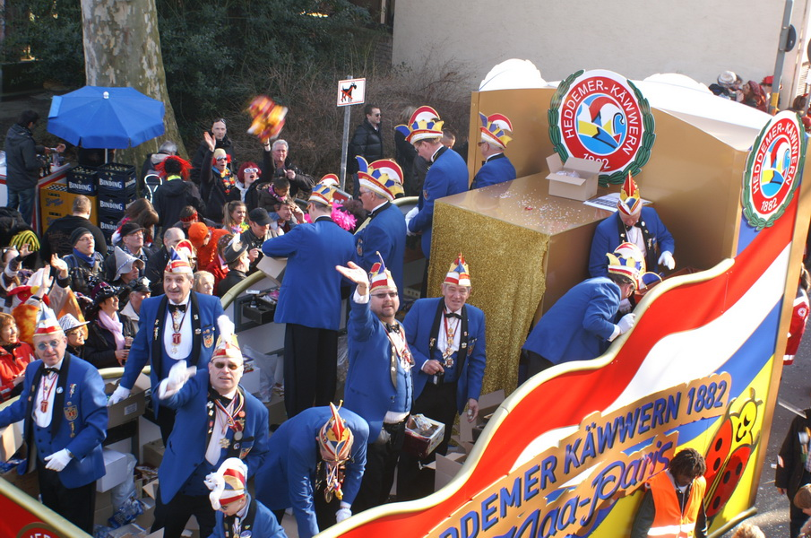 Fastnachtszug 2011