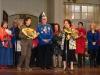 Verleihung des goldenen Lachrö´schen im Volkstheather 2013