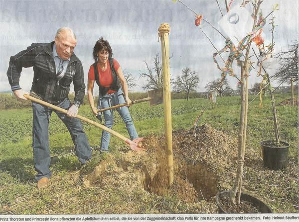 Bild © FNP vom 11.04.2009