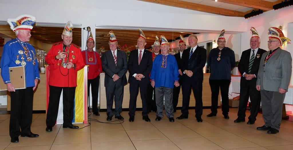 Ehrenbürger der Zuggemeinschaft Klaa Paris 2019